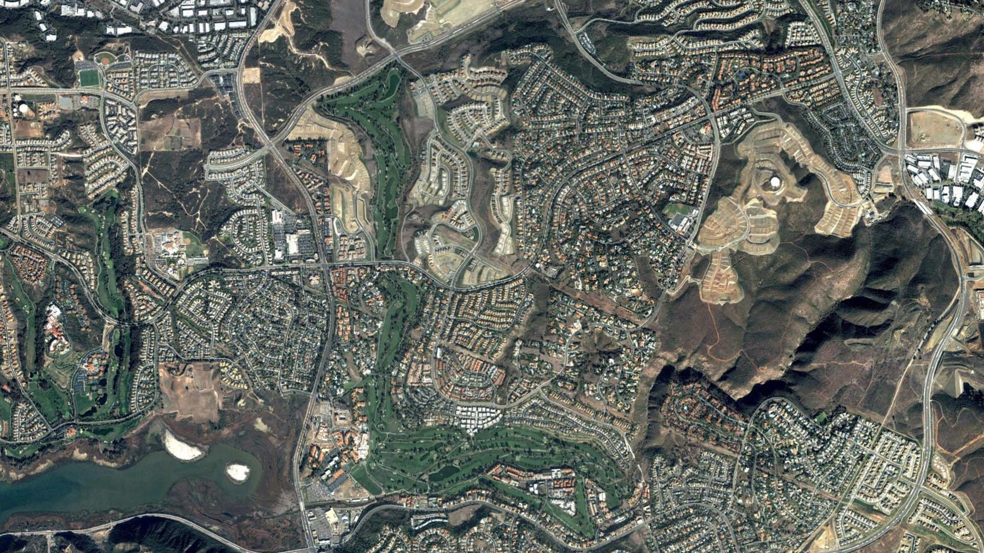 La Costa Golf Course Aerial