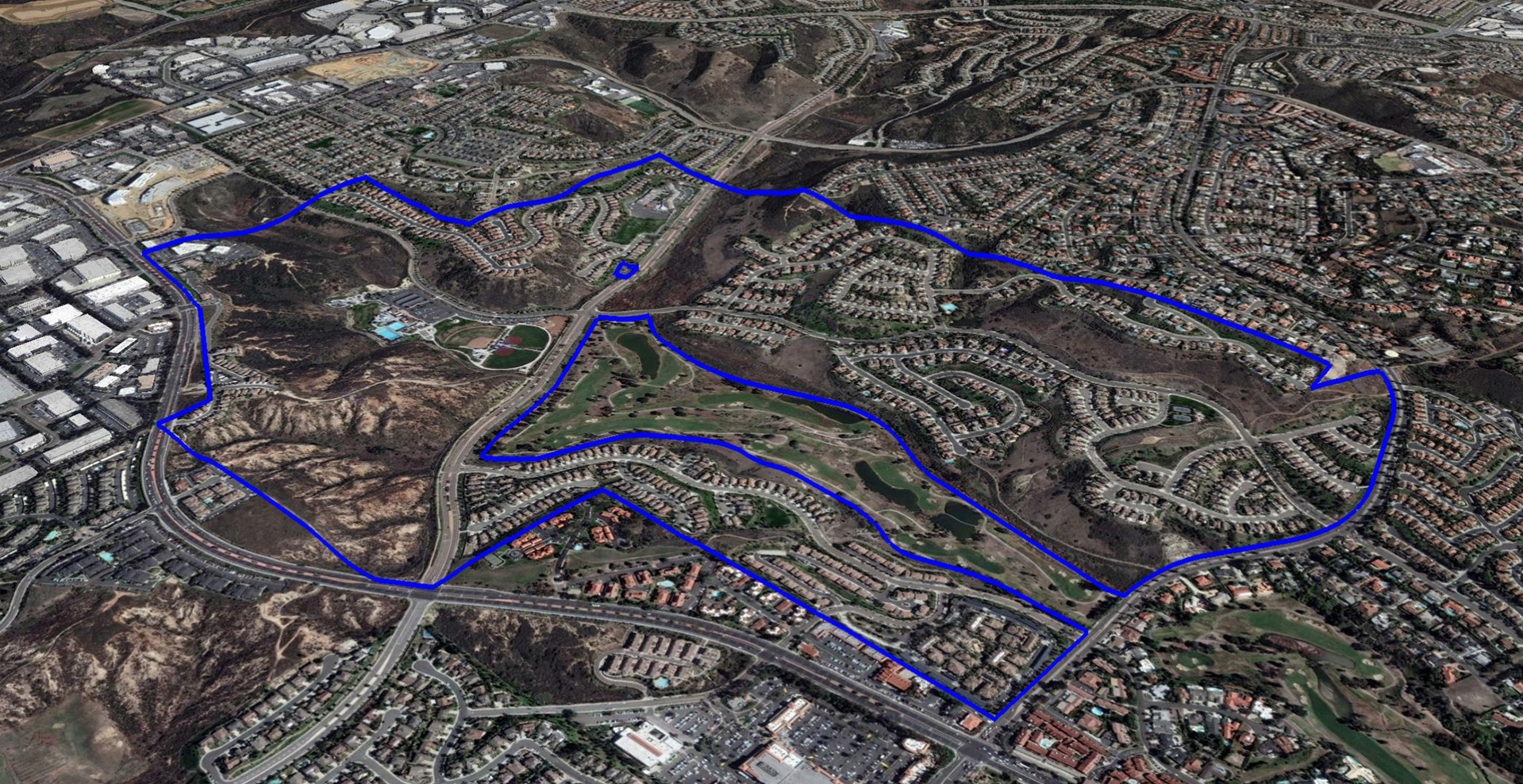 La Costa Greens Site Aerial Master Plan
