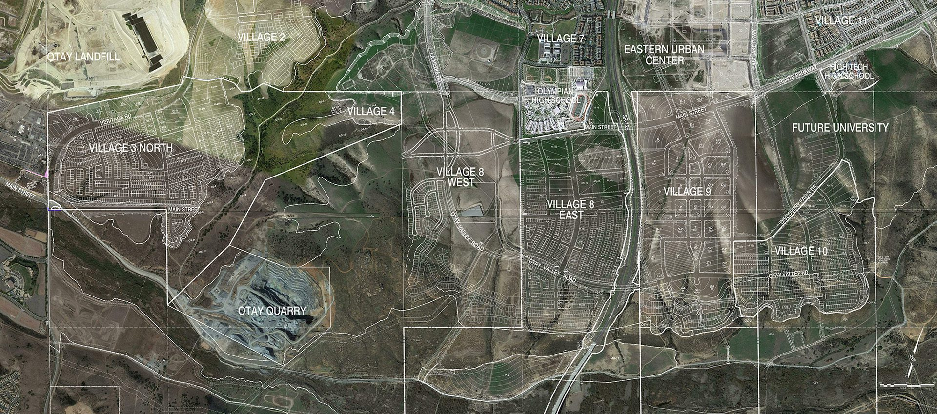 Otay Ranch Master Plan
